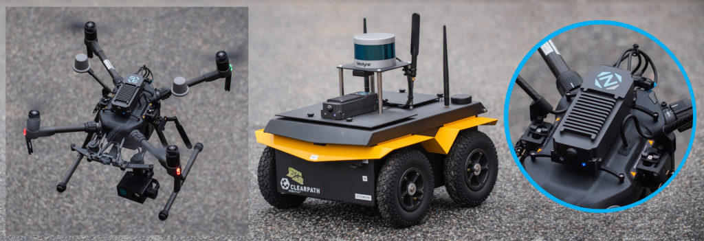 Artificial intelligence AI for drones and mobile robots