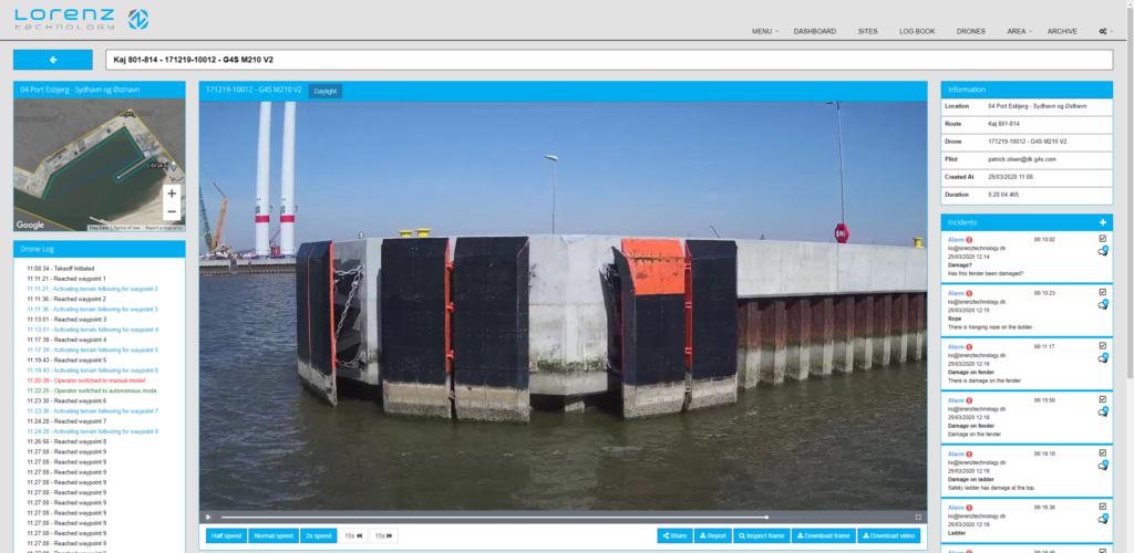 Autonomous quay inspections - digitalizing workflows