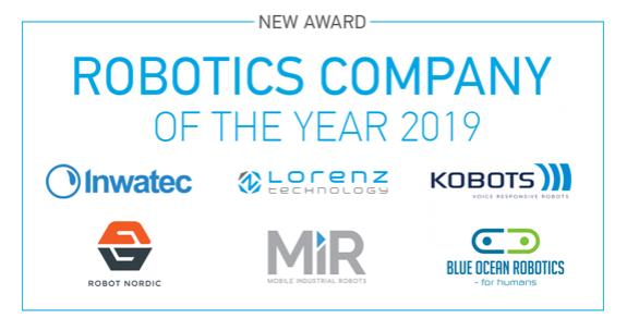 Robotics company of the year