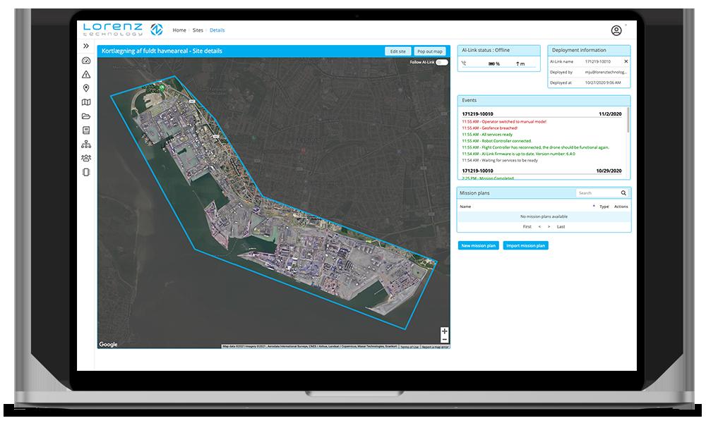 Port digitalization lorenz platform