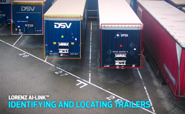 Port digitalization for Trailer-dection
