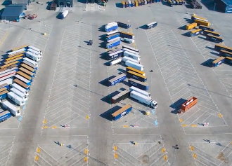 Trailer Detection in Port Terminals